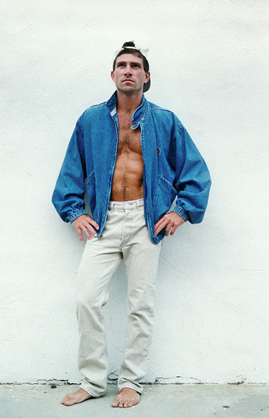 "One of my ""modeling"" photos (circa 1996)"