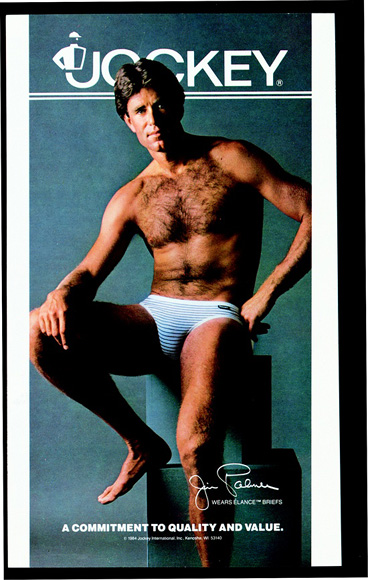Jim Palmer in Jockey Briefs in the 1980s