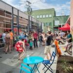 Ithaca Festival, Press Bay Alley (May 2015)