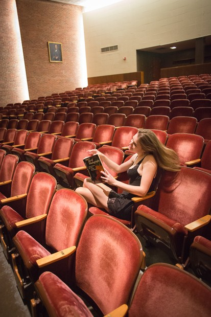 The Joy of Photography in a Red Auditorium