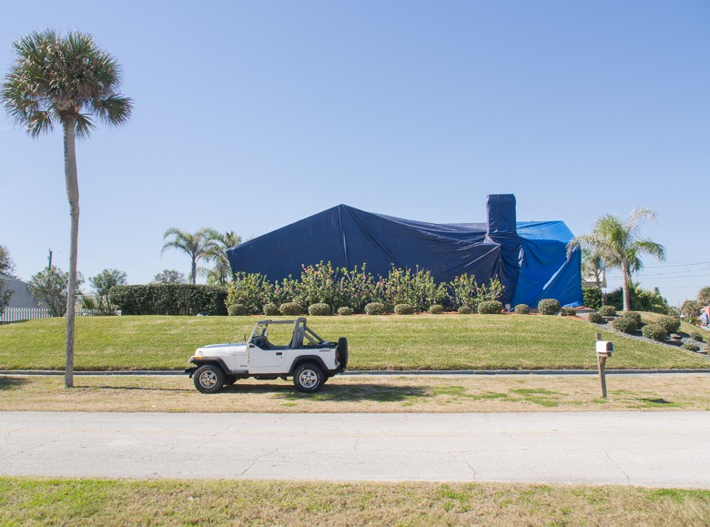 Tented, Daytona Beach, FL (Feb 2014)