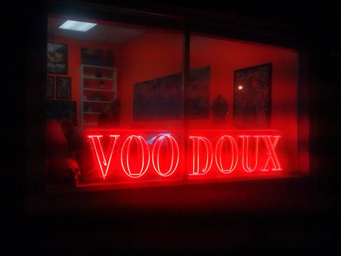 Mid City Voodoux Tattoos, New Orleans, LA (Feb 2015)